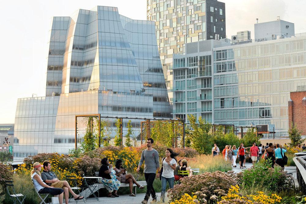 IAC and the High Line