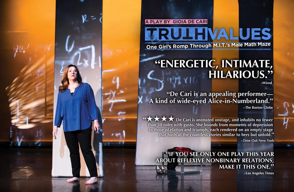 Gioia De Cari in  Truth Values.  Photo by Silvana Ximena.