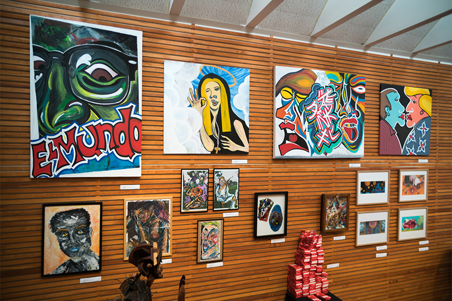 Visit our gallery showcasing Bay Area artists