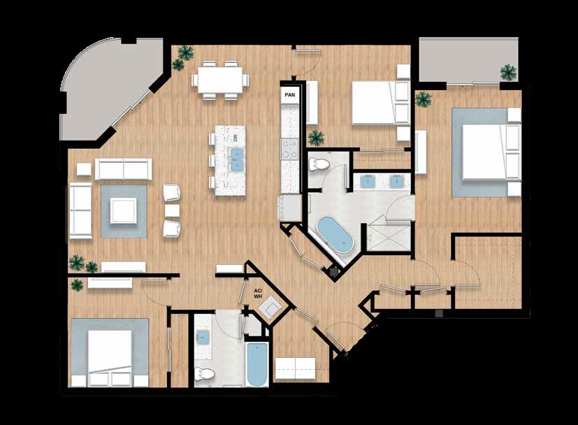The Harvey - 3 bed, 2 bath | 1,916 sq.ft