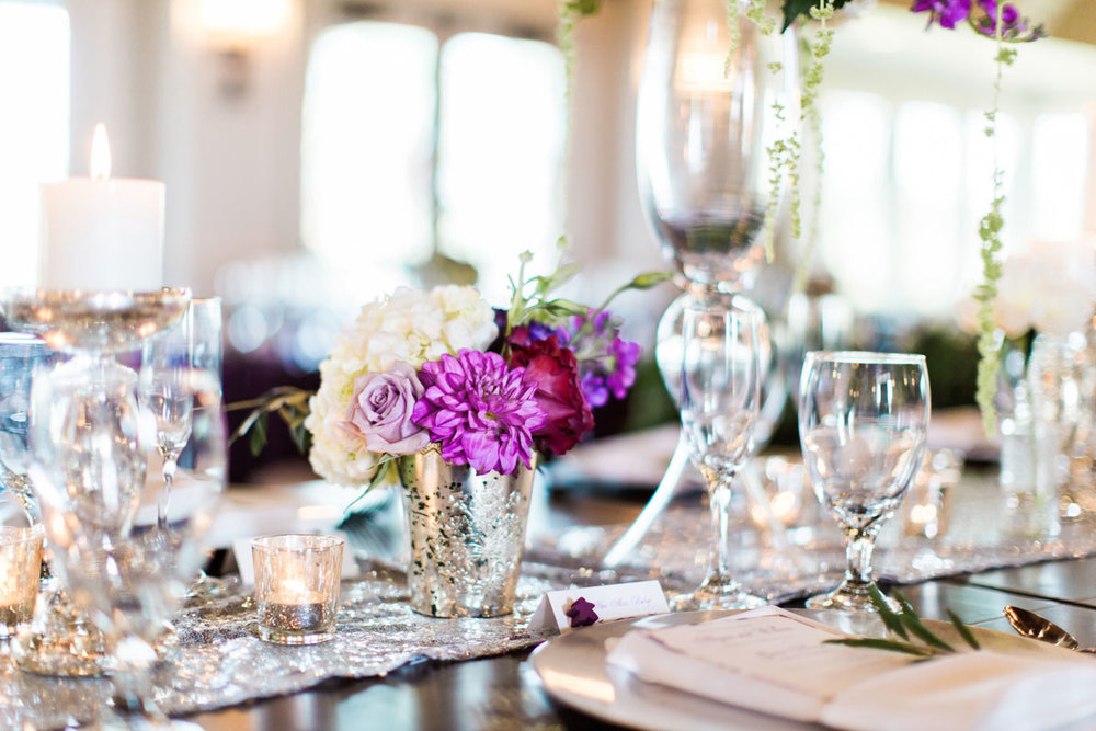 weddingreception-silverpurpletableesetting-purplewhiterosecenterpiece.jpg