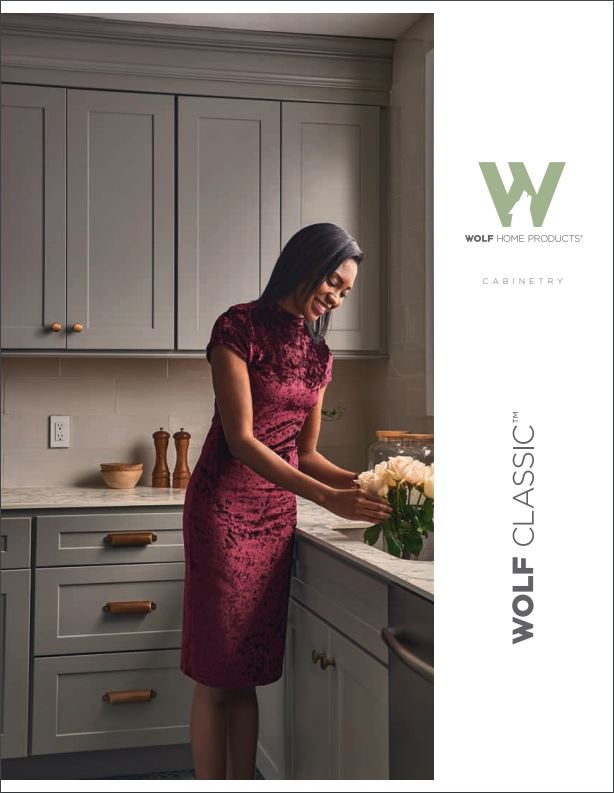 Wolf Classic - Affordable, high-quality cabinets with a five-year warranty and great features that enable you to make the kitchen of your dreams a reality.