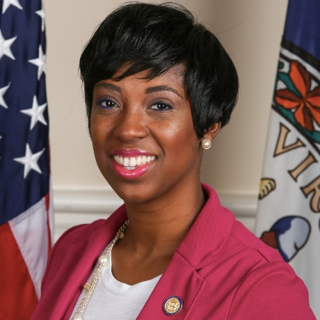 Delegate Lashrecse Aird  (Chesterfield, Dinwiddie, Prince George, Hopewell, and Petersburg)
