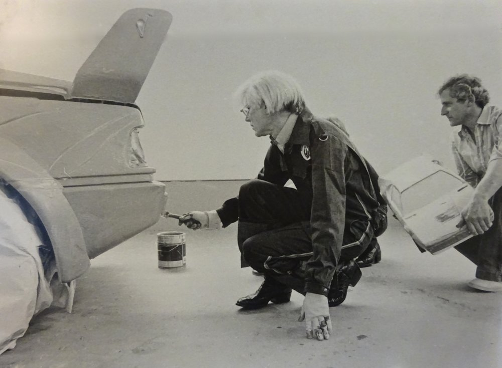 Andy Warhol and Walter Maurer