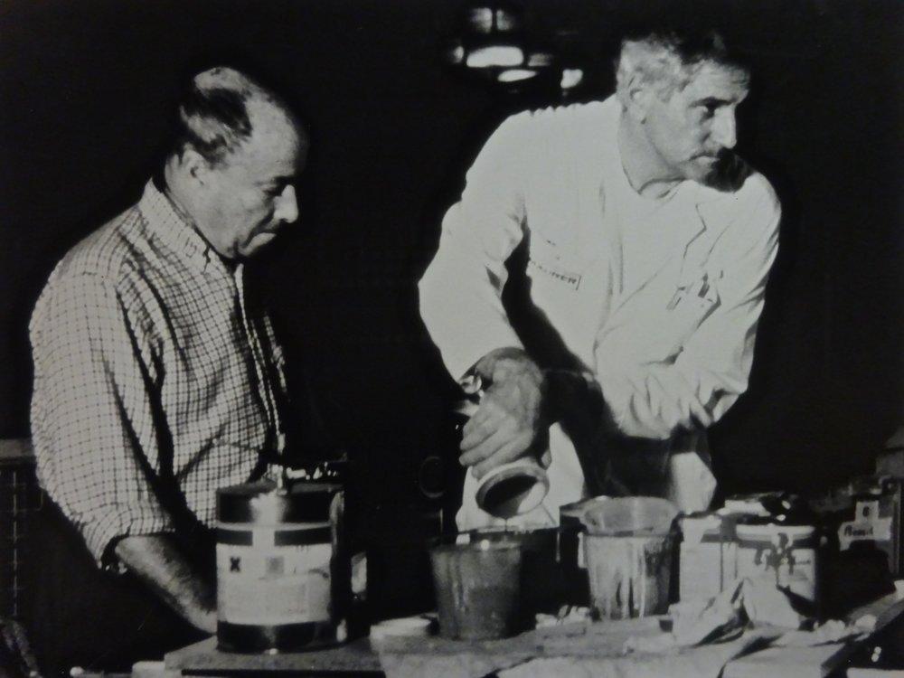 César Manrique and Walter Maurer
