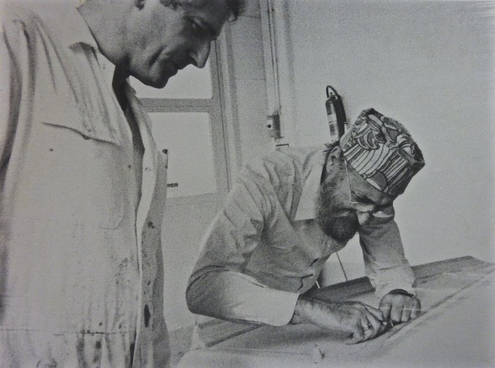 Ernst Fuchs and Walter Maurer