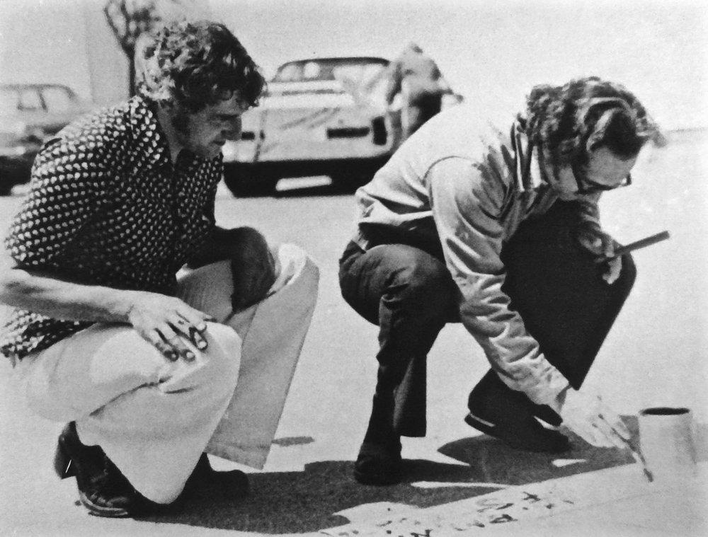 Frank Stella and Walter Maurer