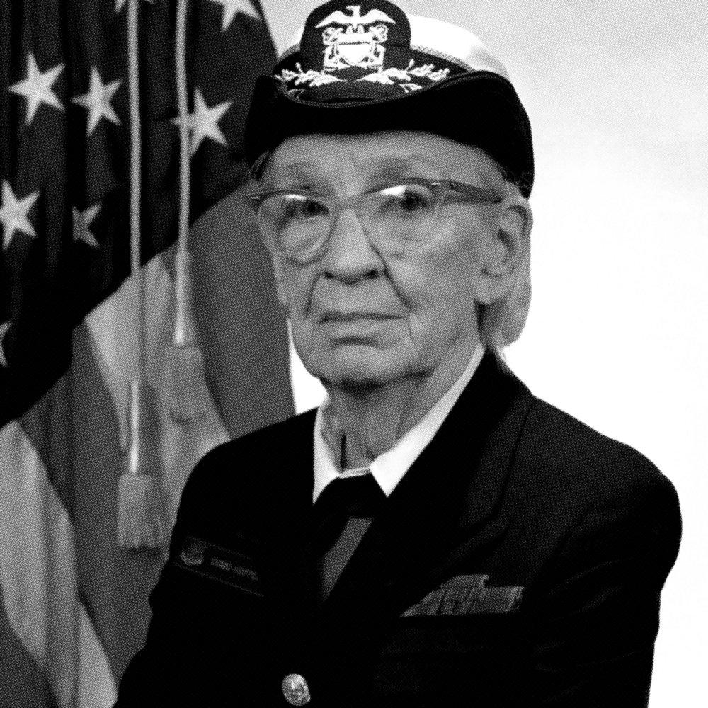 Grace Hopper    Programming Pioneer and Navy Leader