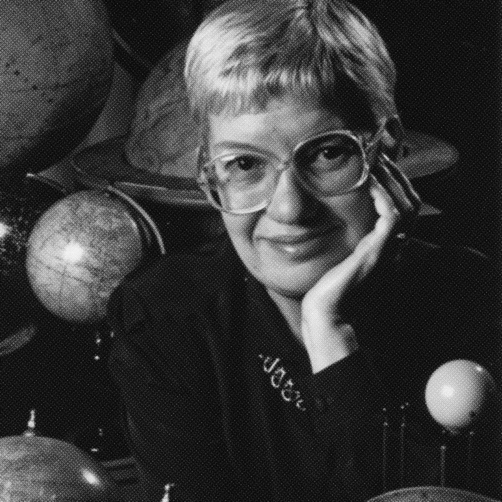 Vera Rubin    Discoverer of Dark Matter