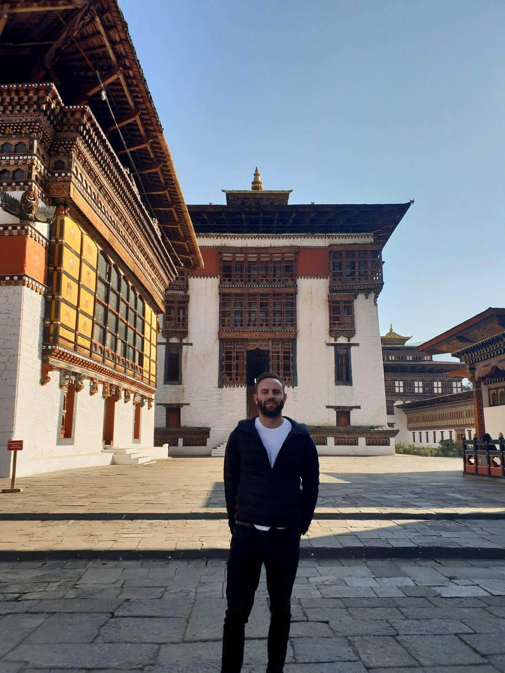 Tashichho Dzong, Thimpu.