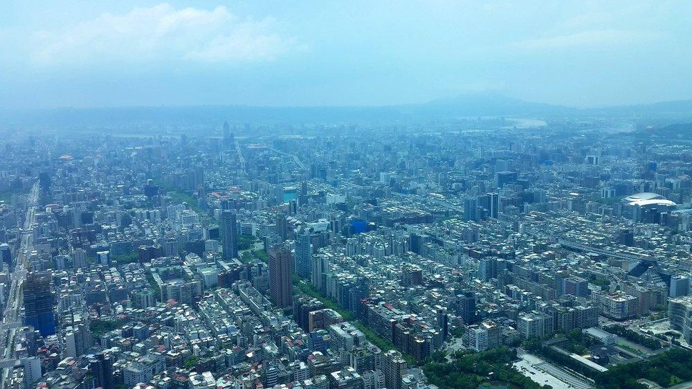 Taipei, a concrete jungle with charm.
