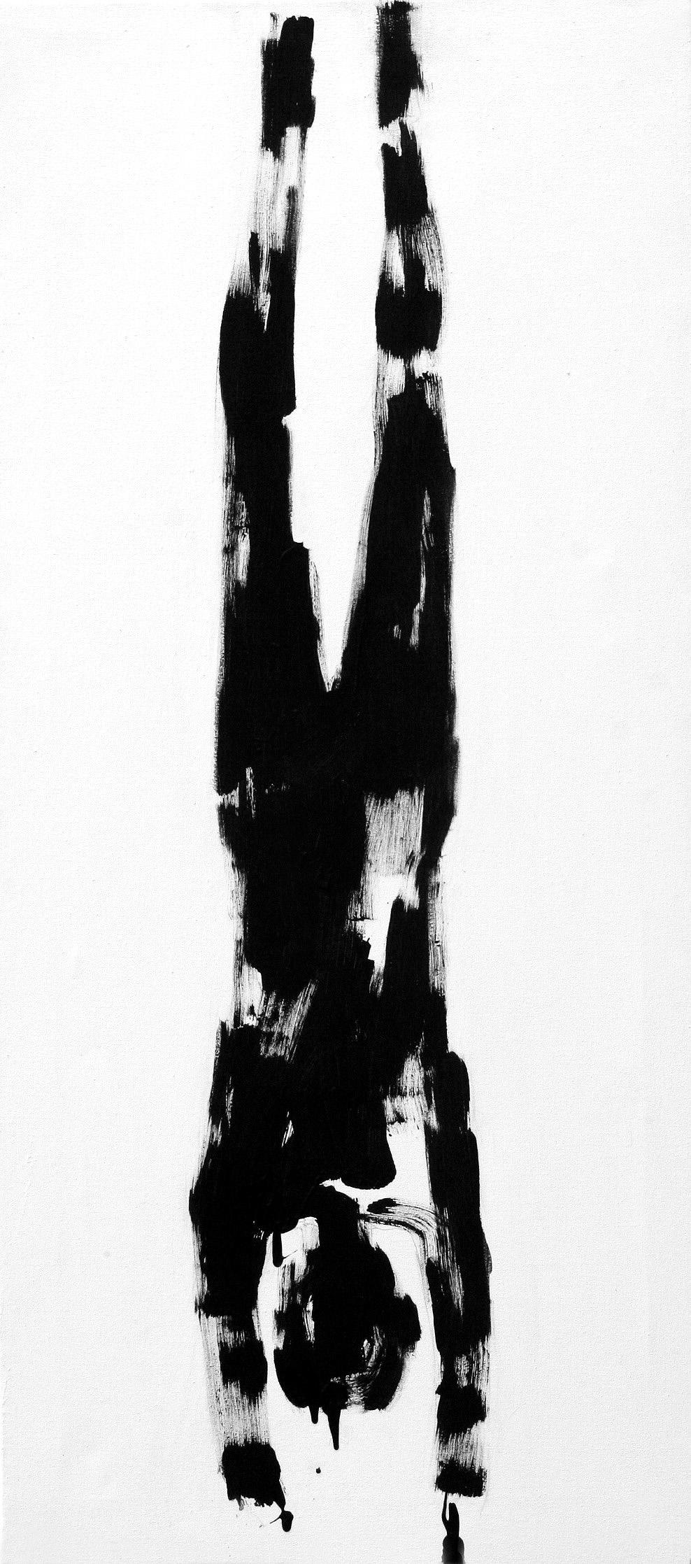 Untitled  59cm x 120cm Acrylic on canvas