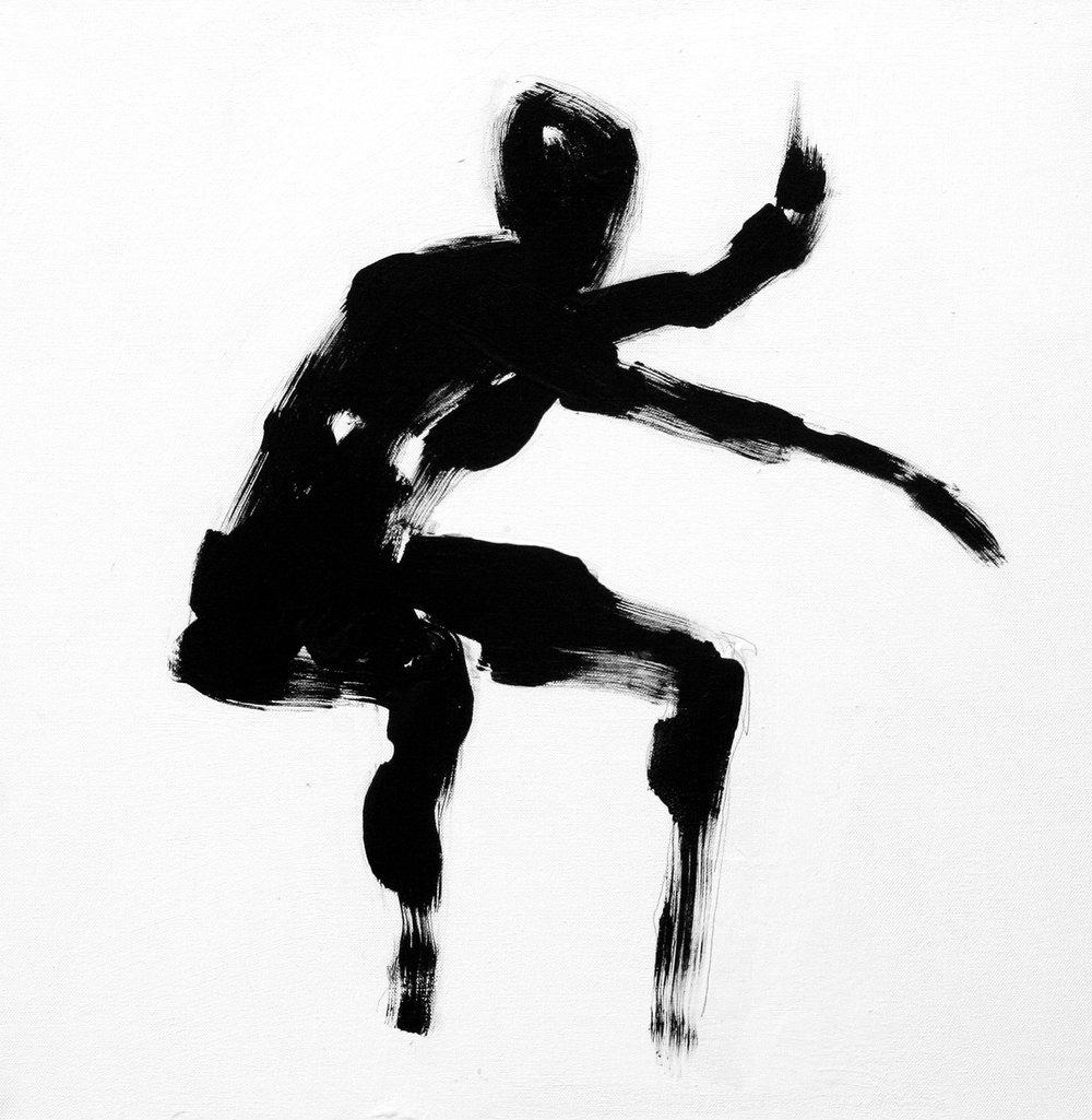 Untitled  90cm x 90cm Acrylic on canvas