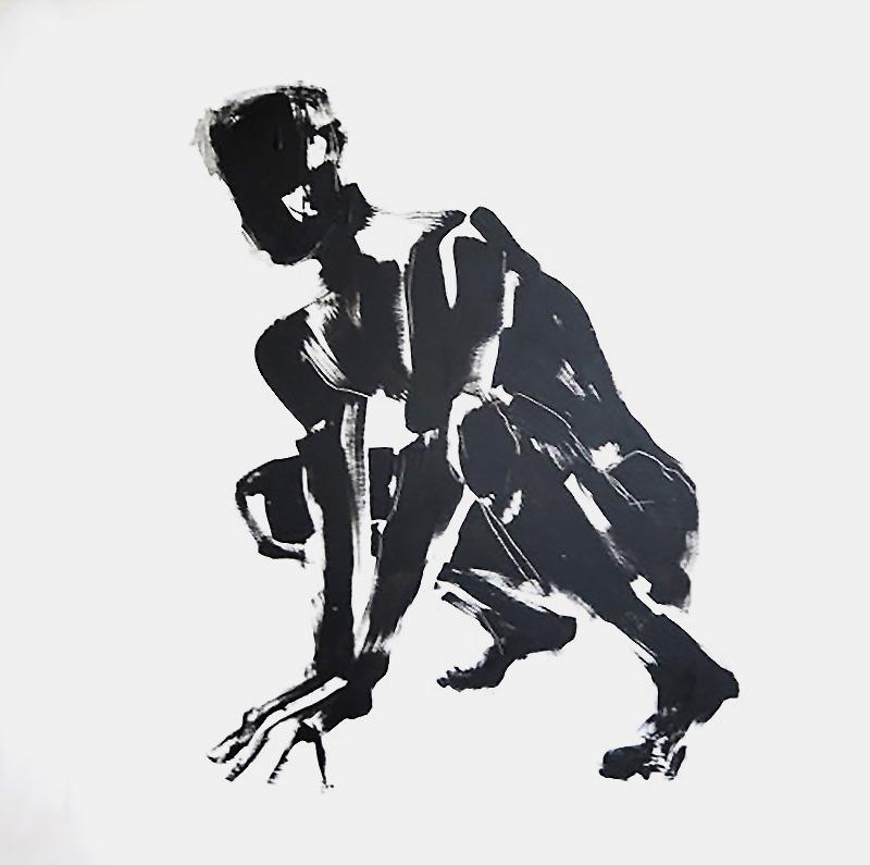 Untitled  80cm x 80cm Acrylic on canvas