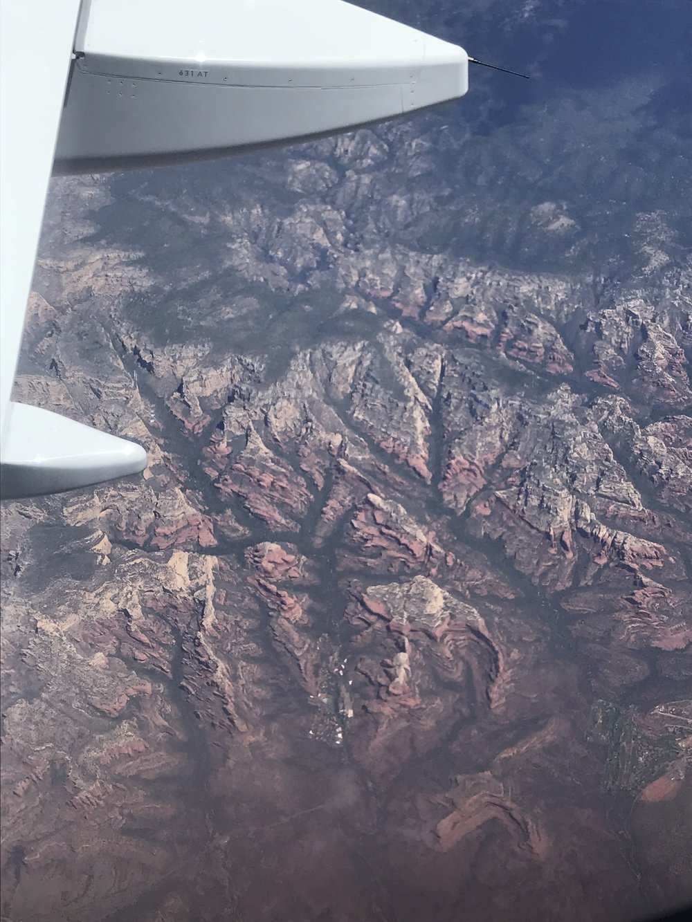 "Zach told me that this wasn't the Grand Canyon (he was like ""Uh I've  been  to the Grand Canyon. I would know. That is  not  the Grand Canyon."" Well guess what. I still don't know, but I think it definitely has to be, right??"