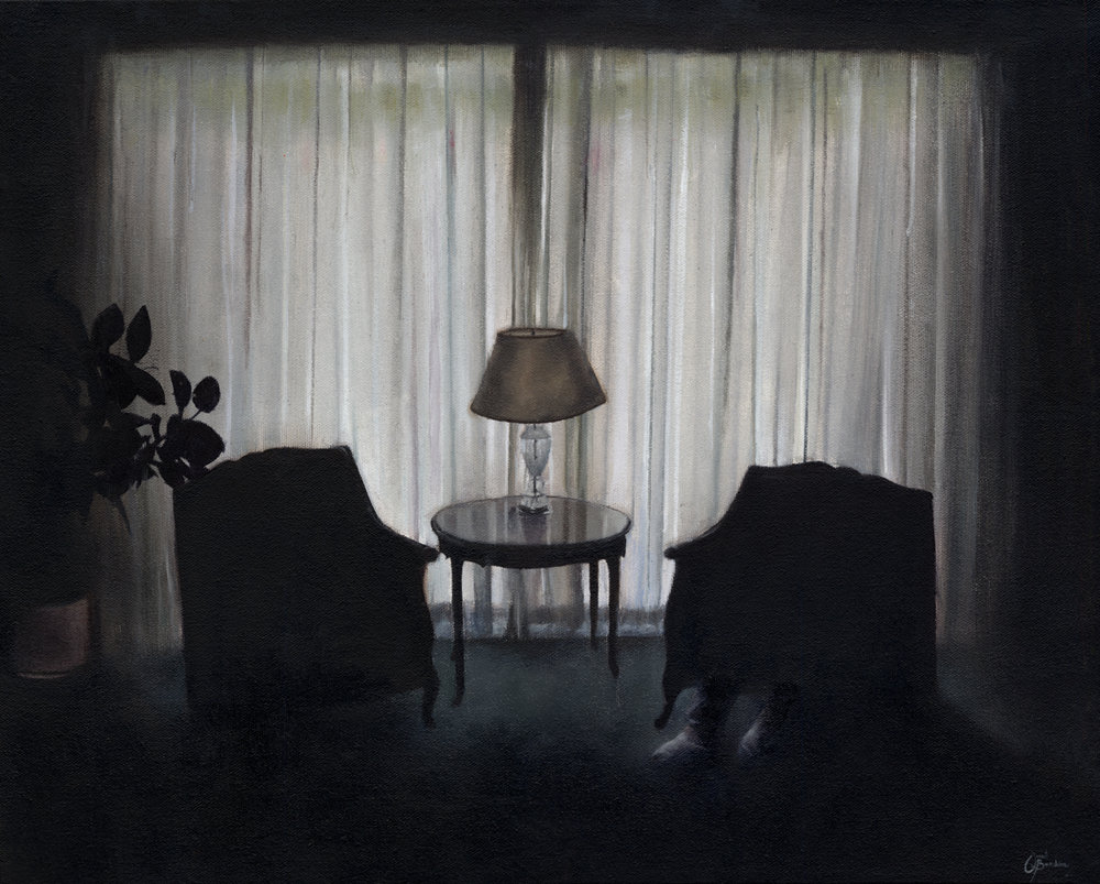 The Lonely Hours  2015  oil on canvas  20 X 16 inches    Enquiry