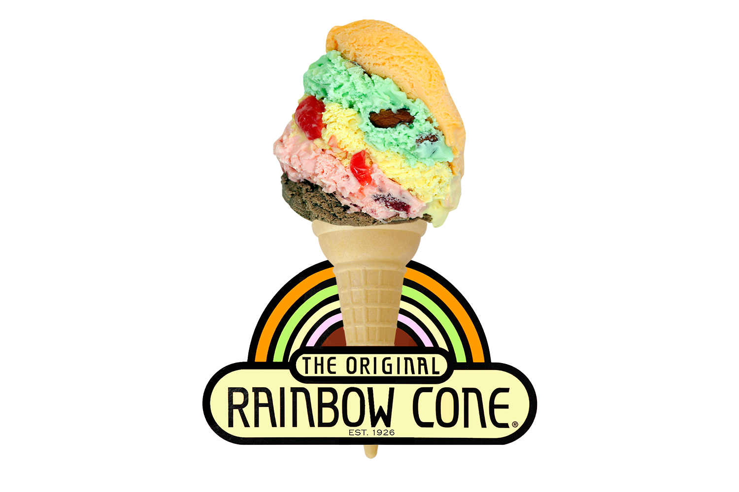 The Original Rainbow Cone