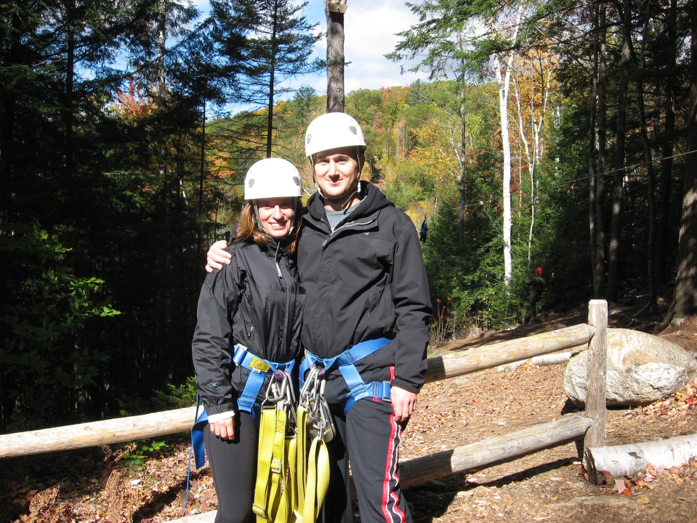 David & Melissa Zippin October 2010
