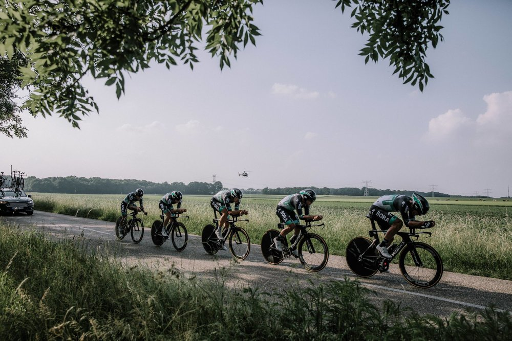 The decisive Hammer Chase is a team pursuit format
