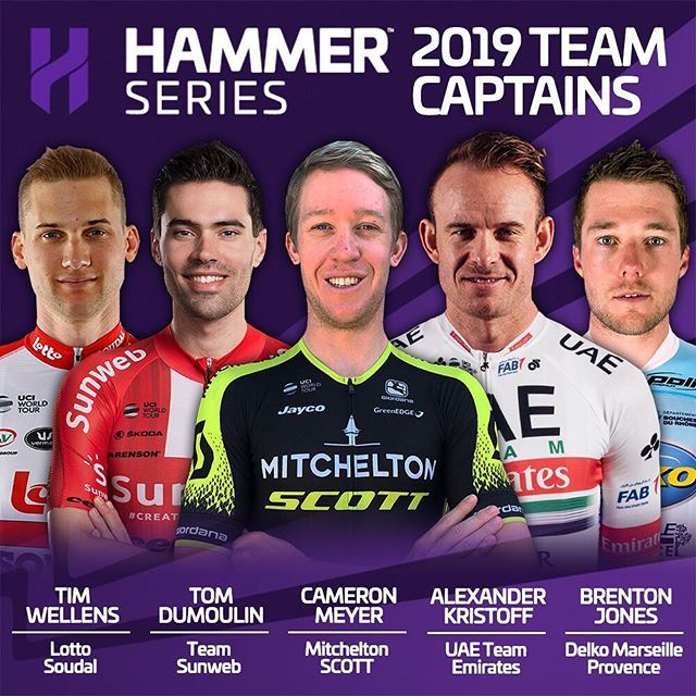 🗣ANNOUNCEMENT!  Today, we are introducing Hammer Captains. Each team has appointed a dedicated captain for this year's #HammerSeries. These are the first five Hammer Captains. The rest will be revealed over the next couple of weeks.  Link to quotes from the Hammer Captains in bio!  #HammerSeries #HammerStavanger #HammerLimburg #HammerHongKong #procycling #cycling #cycle #bikelife #bicycle #bike #roadbike #ciclismo #cyclinglife #cyclist #velo #ride #motivation #life #love #fitness #fun #instagood