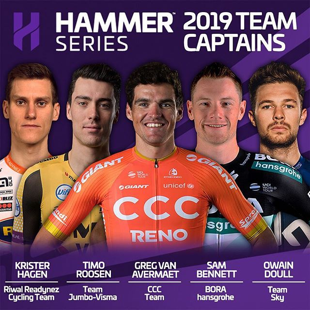 It's time to reveal the next five Hammer Captains of this year's #HammerSeries!  Link in bio for quotes and more.  #HammerSeries #HammerStavanger #HammerLimburg #HammerHongKong #procycling #cycling #cycle #bikelife #bicycle #bike #roadbike #ciclismo #cyclinglife #cyclist #velo #ride #motivation #life #love #fitness #fun #instagood