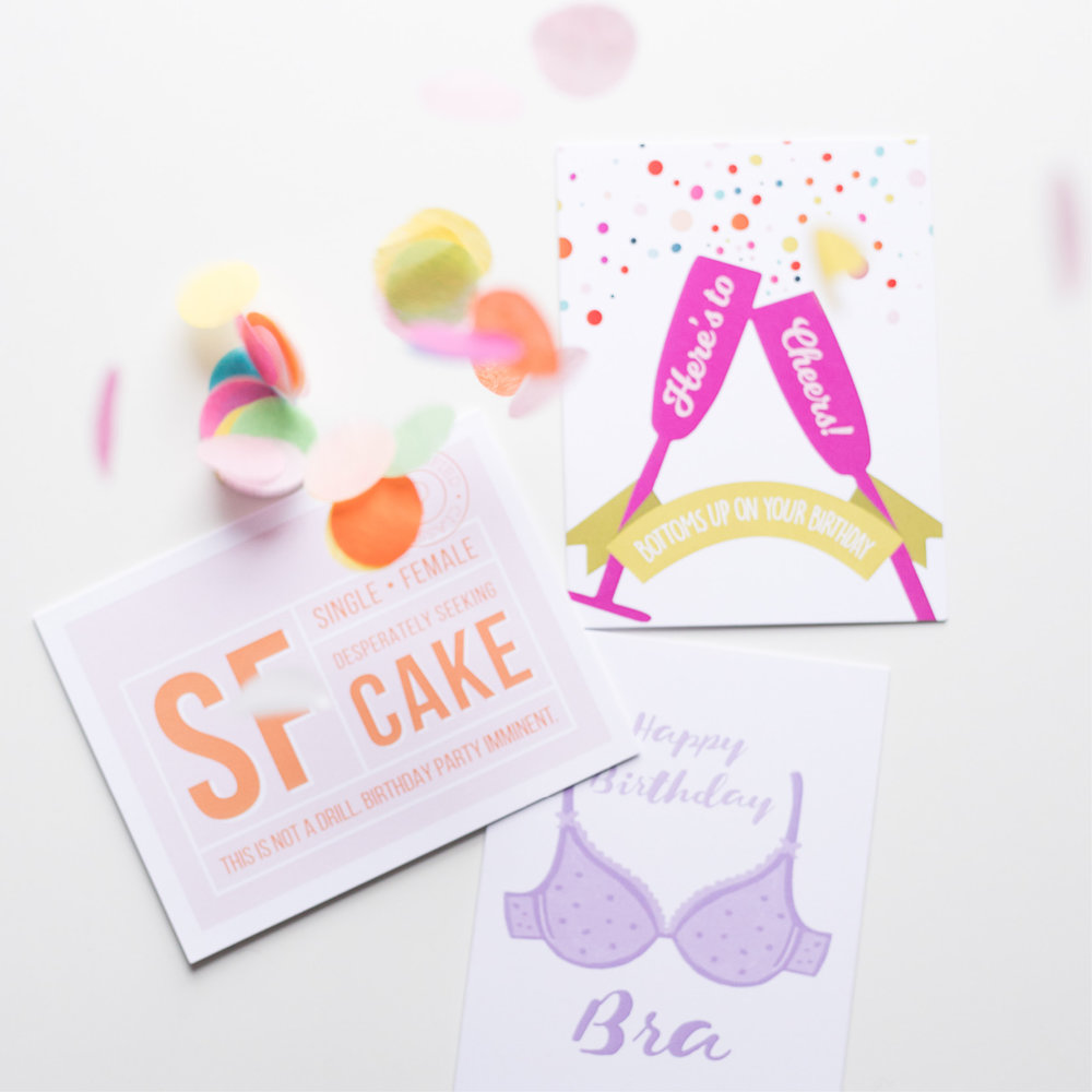paper love: greeting cards! my sister and i have a small shop on etsy. -