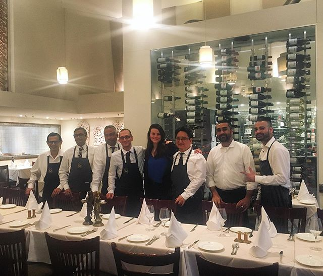 Our lovely team #GoodVibesOnly  #LeTaj #IndianFineDining 🥘🇮🇳🇨🇦