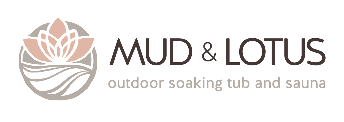 Mud & Lotus Outdoor Soaking Tub & Sauna