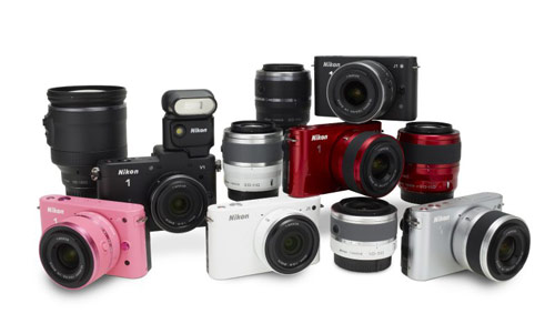 Nikon 1 Series equipments