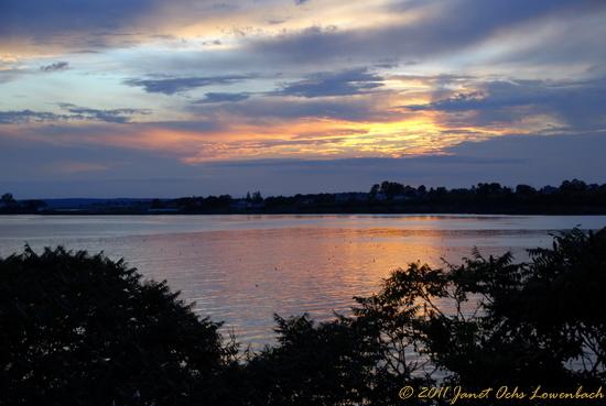 Sunset at Bailey Island