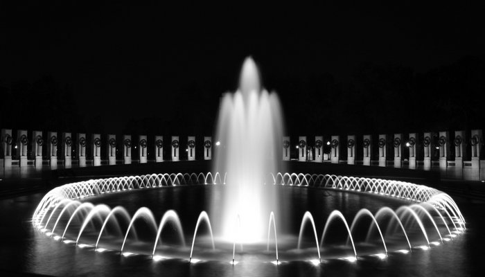 Word War II Memorial Fountain