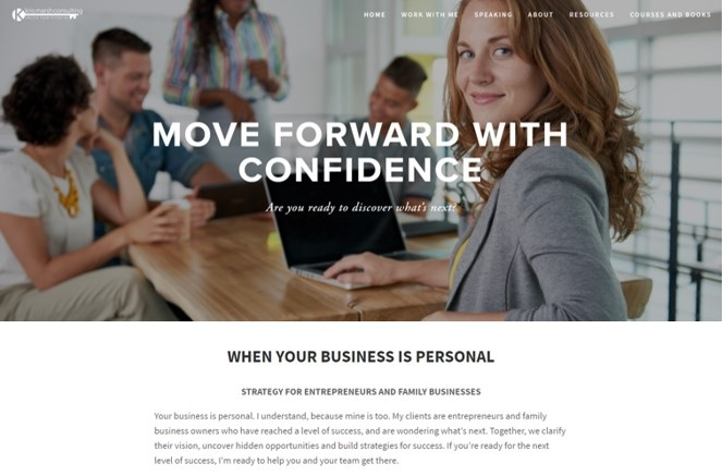 Kris Marsh Consulting - Website - Copywriting - PodcastsWhen our sister company, Kris Marsh Consulting, needed a brand refresh, our team rose to the challenge with a clean website design, compelling copy for a strategic planning brochure and production of a new podcast series.