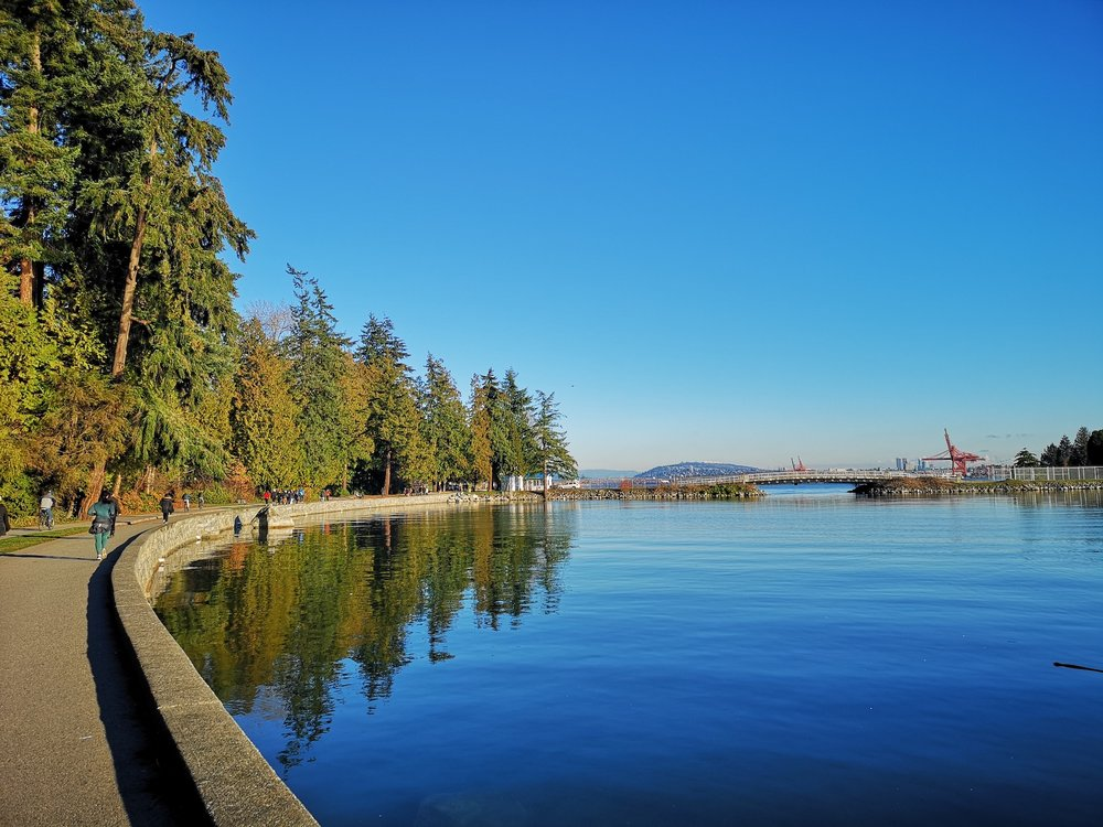 December in Vancouver is beautiful.