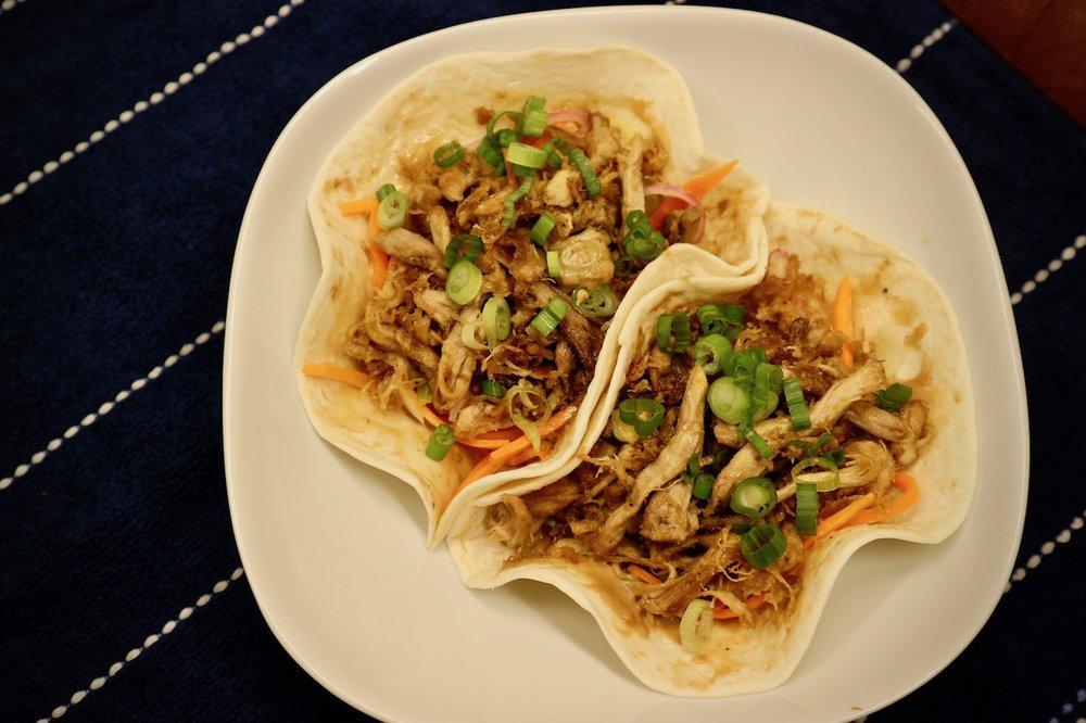 Crispy Adobo Flake Tacos -
