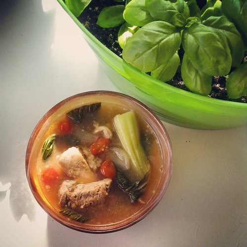 I finally made sinigang from scratch!