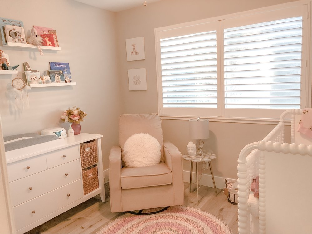 Ellas Nursery Decor