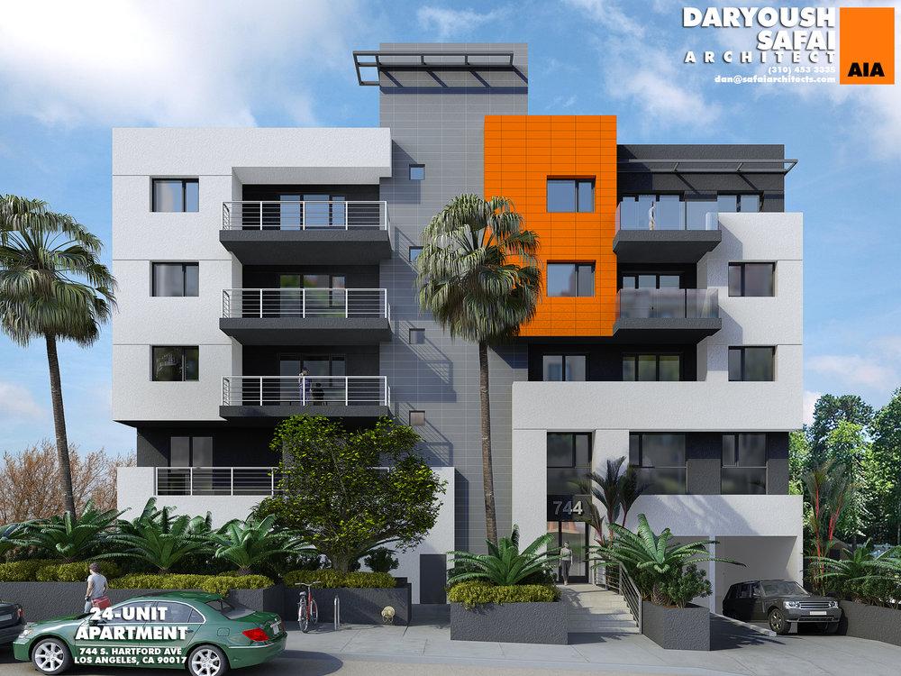 24 Units - 744 Hartford Ave, Los Angeles, CA 90017