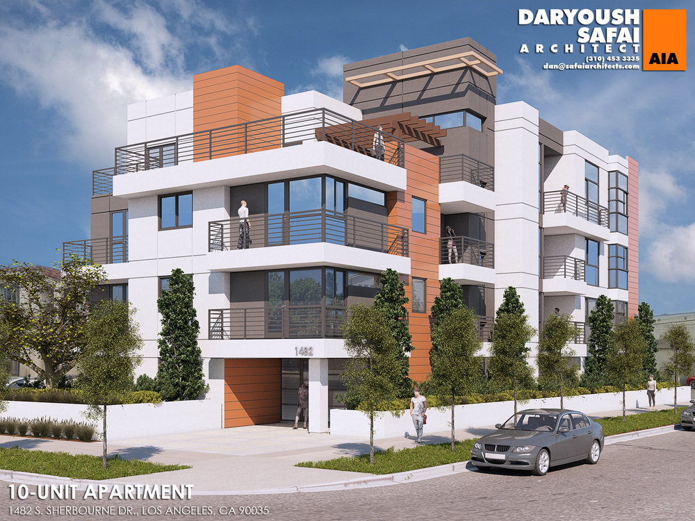 10 Units - 1482 S Sherbourne Dr, Los Angeles, CA 90035