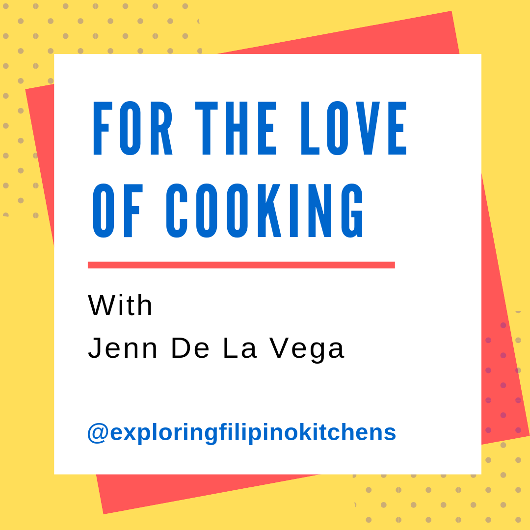 EP 18: For The Love Of Cooking With Jenn De La Vega