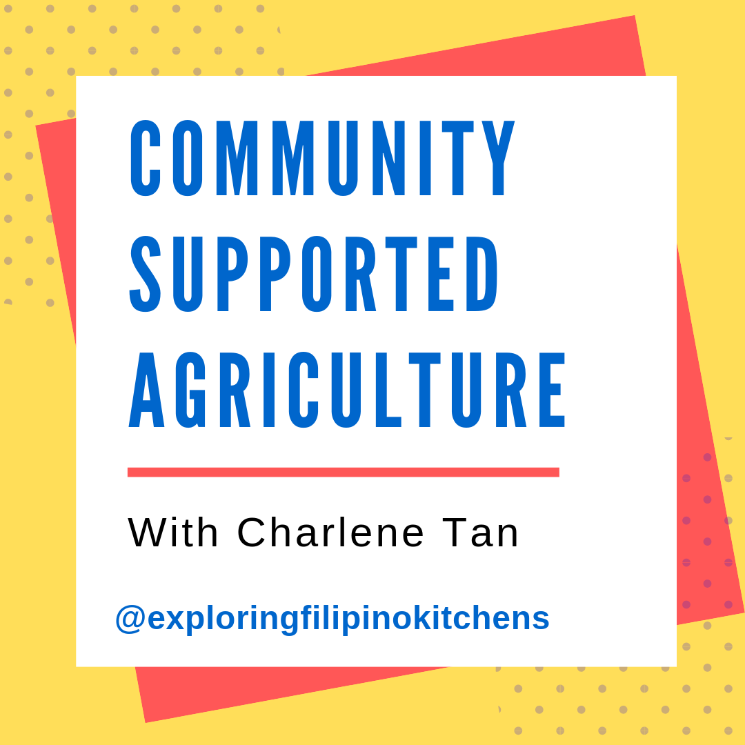 EP 17: Community Supported Agriculture with Charlene Tan