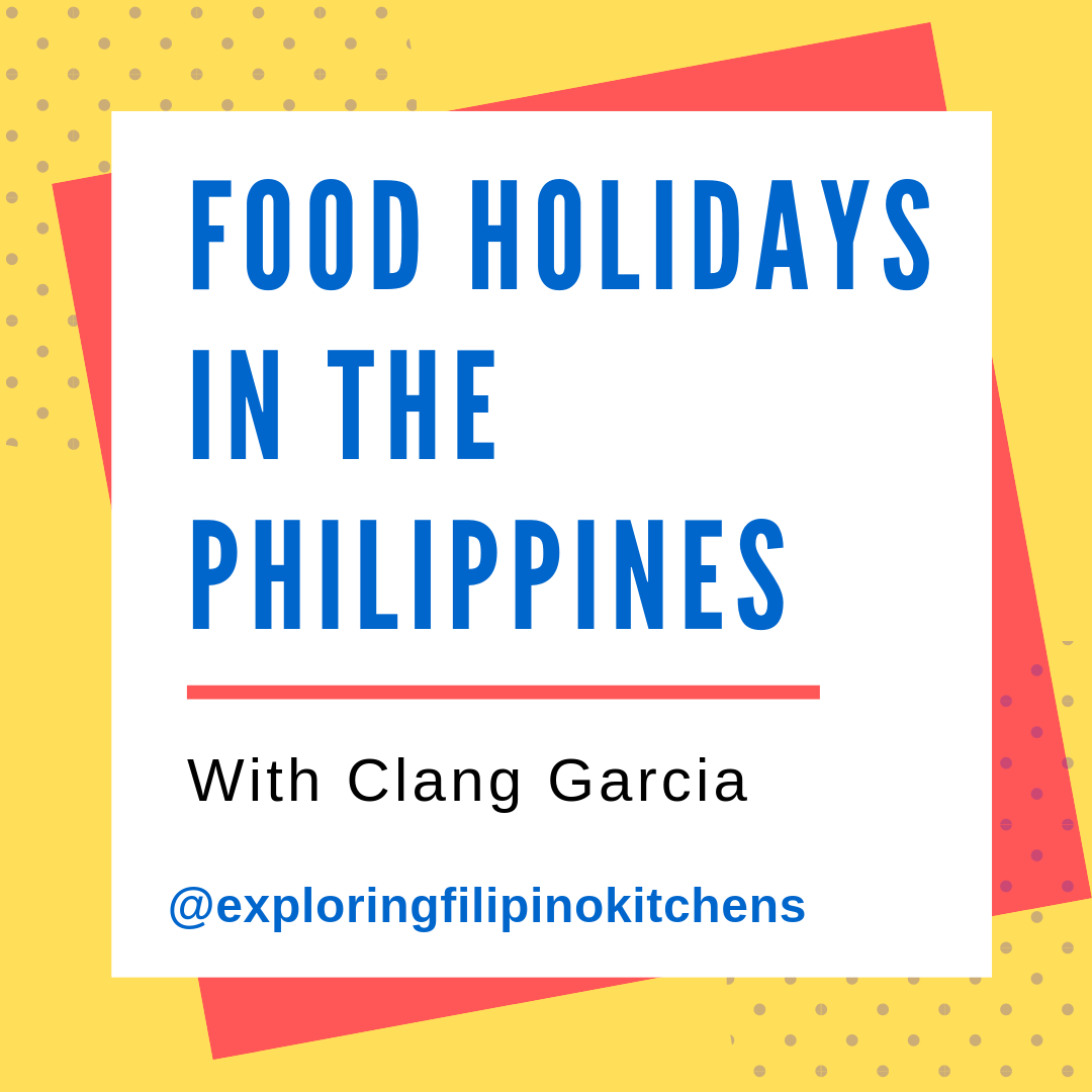 EP 14: Food Holidays In The Philippines With Clang Garcia
