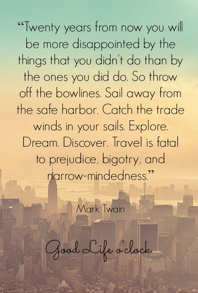 Travel Quote Mark Twain