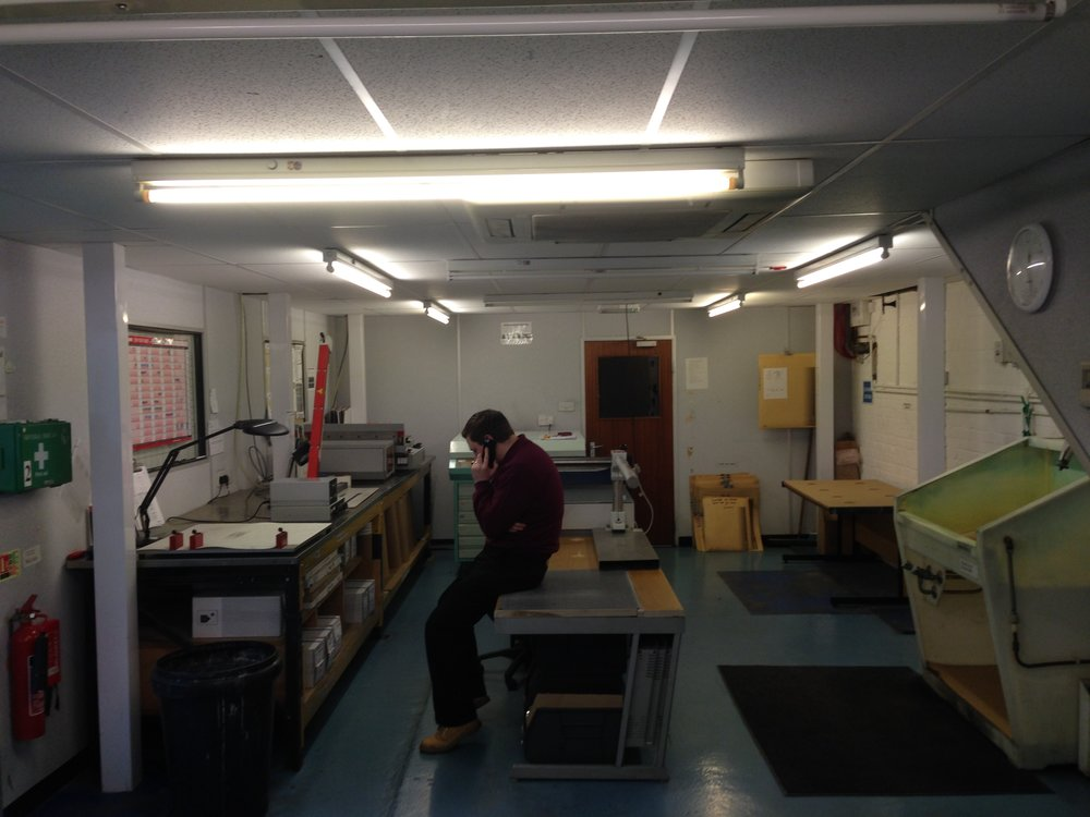 Office remodelling - design and refit - Littlehampton manufacturing sector_21