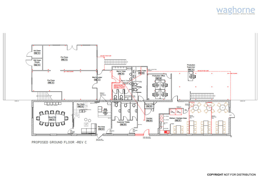 Office remodelling - design and refit - Littlehampton manufacturing sector_24