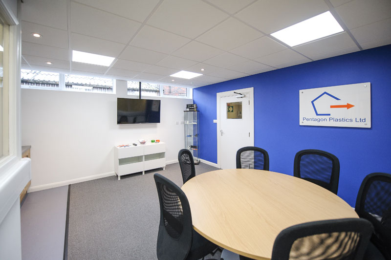 Factory and office remodelling and concept design - Horsham manufacturing sector_1