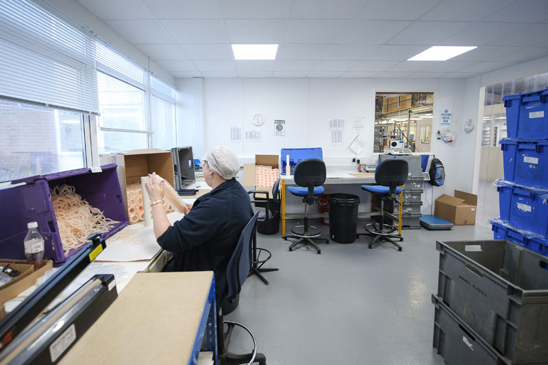 Factory and office remodelling and concept design - Horsham manufacturing sector_3