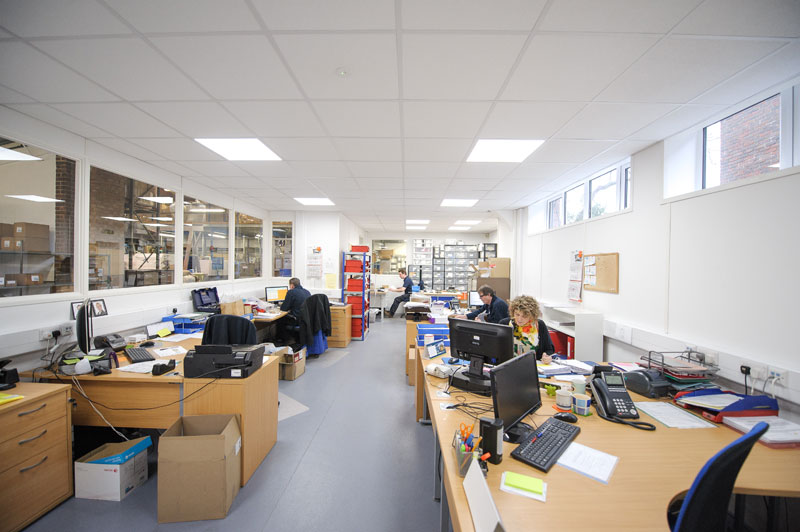 Factory and office remodelling and concept design - Horsham manufacturing sector_4