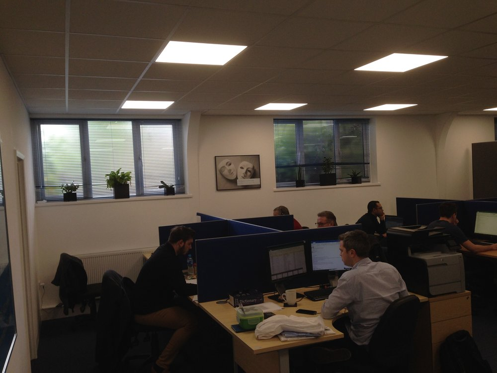 Concept design and office fit-out - Witley marketing sector_10