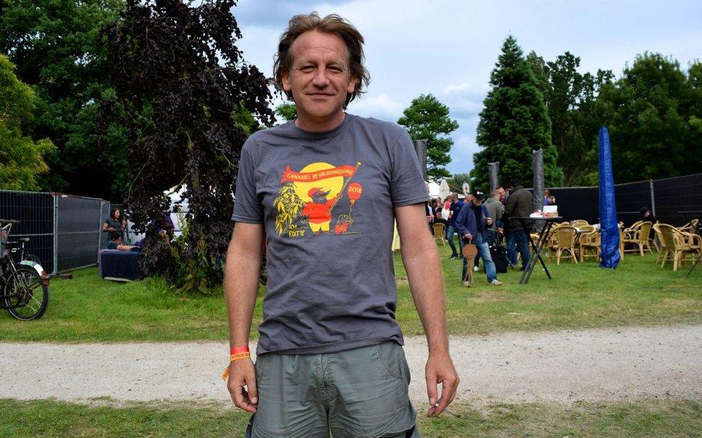 Derric Bergman , leder og grunnlegger VOC Netherlands