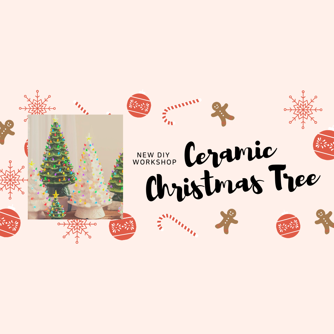 Clarksville Tn Hobby Lobby Nostalgic Ceramic Christmas Tree 9 6
